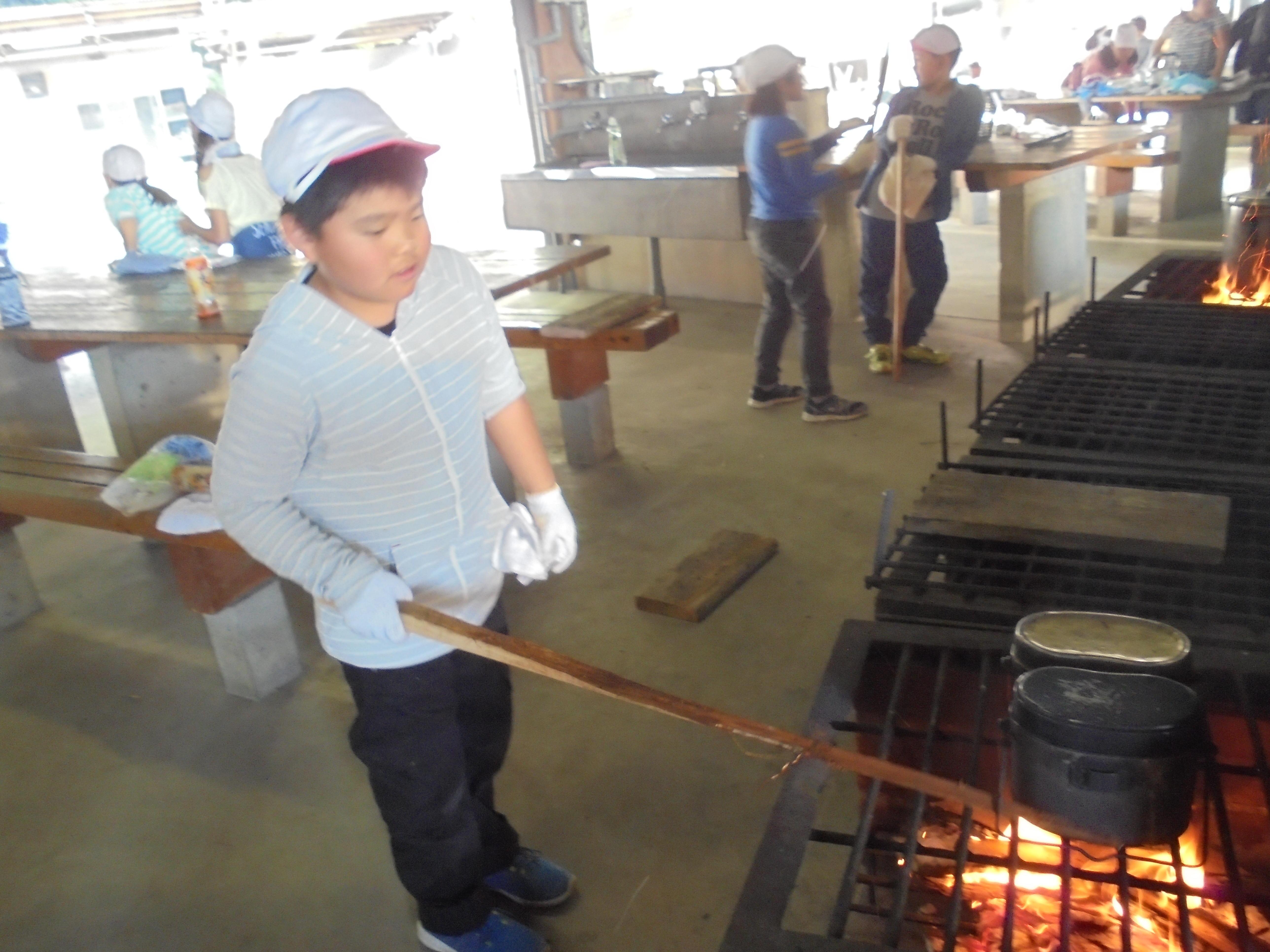野外炊飯2